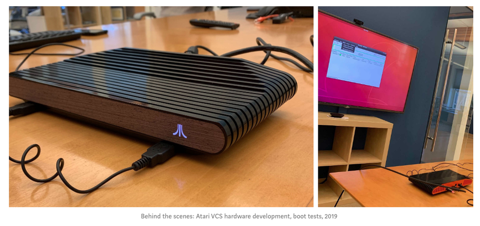 Prueba de Atari VCS
