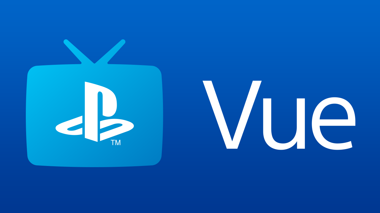 Logotipo de PlayStation Vue