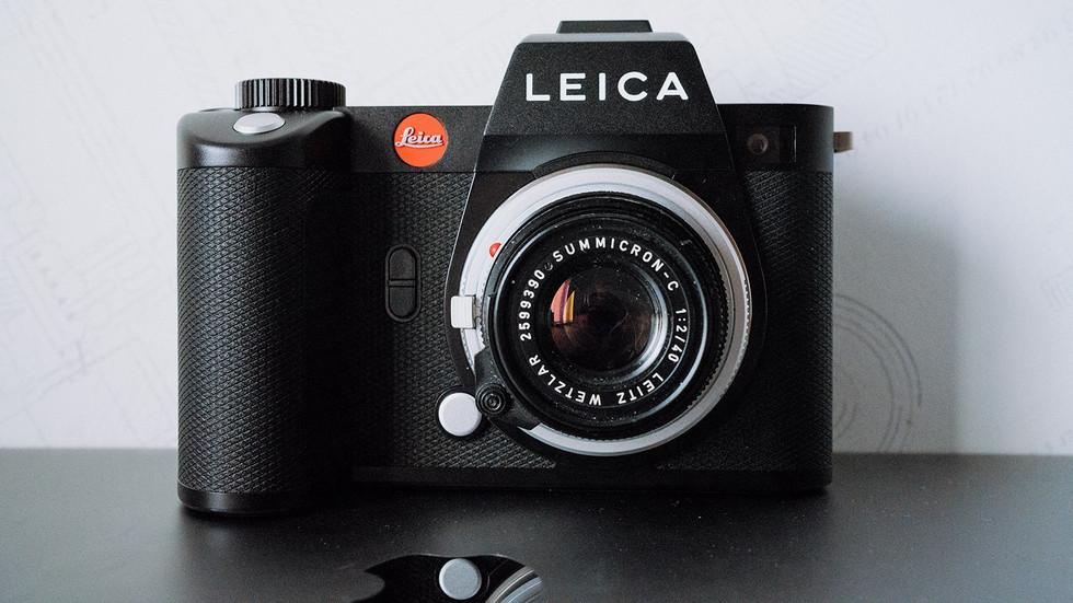 Leica SL2: antes