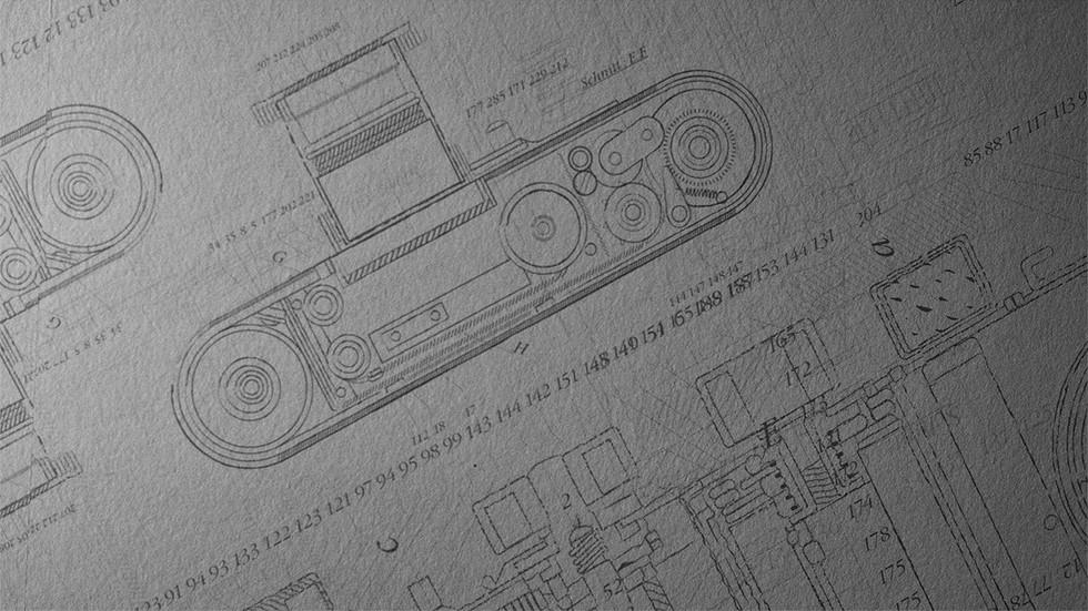 Leica: dibujo esquemático