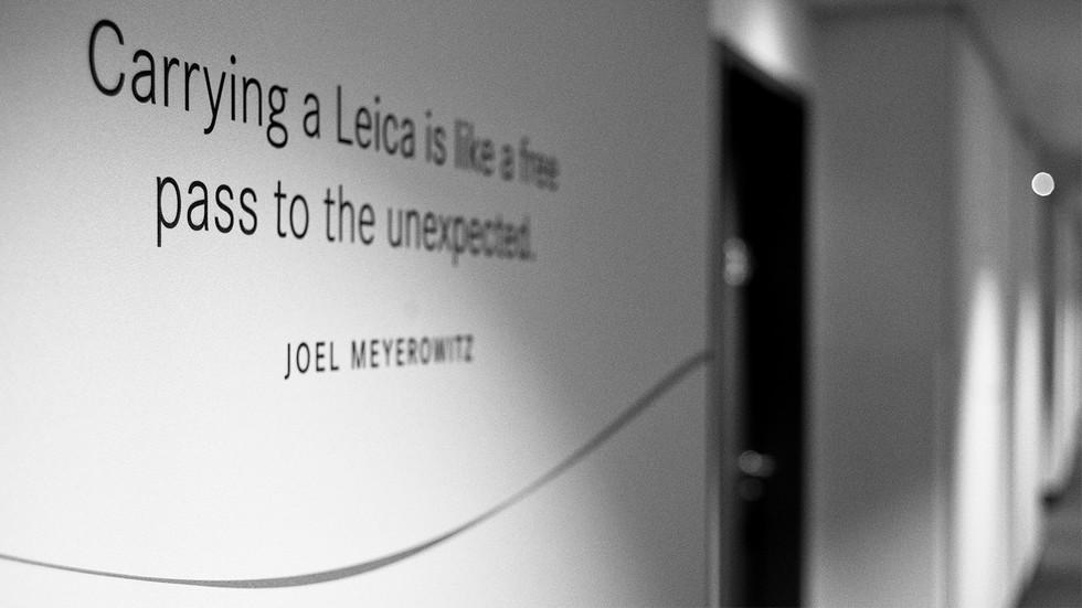 Cita de Joel Meyerowitz