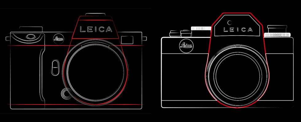 Leica SL2 y R3: dibujos lineales