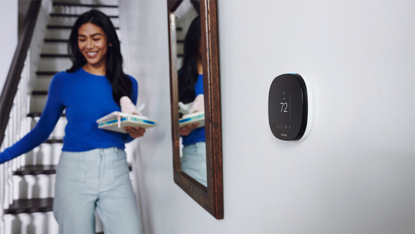 Ecobee Smart Thermostat con control por voz