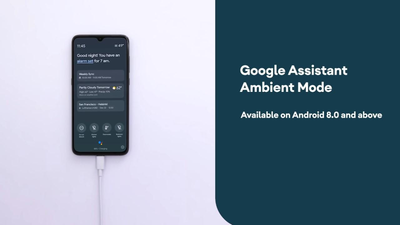 Modo Asistente de Google