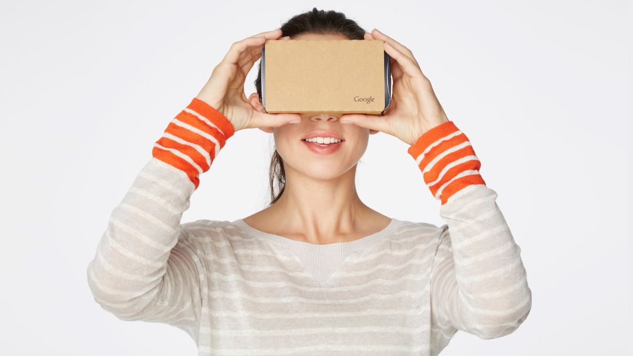 Visualizador de realidad virtual de Google Cardboard