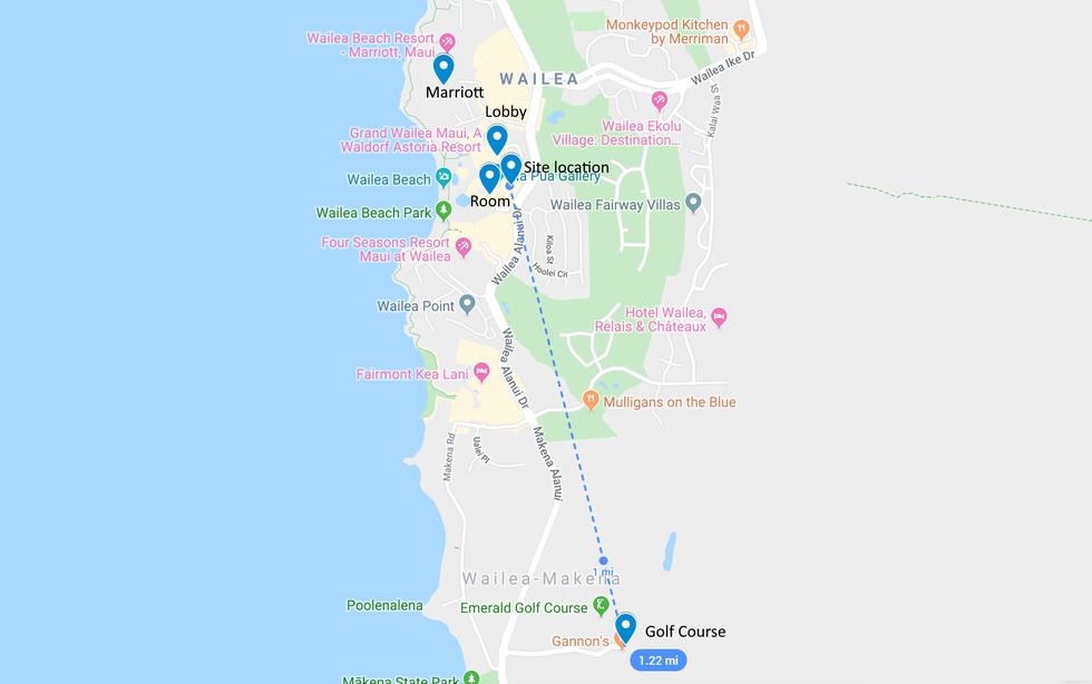 Mapa de ubicación de prueba de T-Mobile