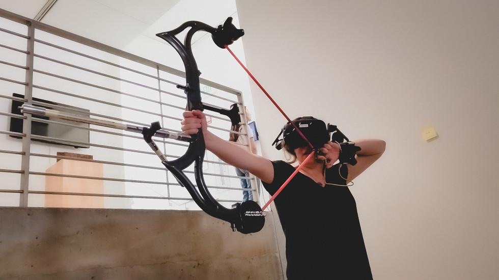 Aero VR Archery Simulation Proyecto HTC Vive