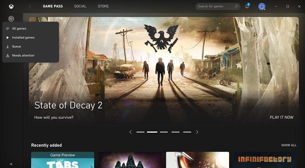 Xbox App Beta