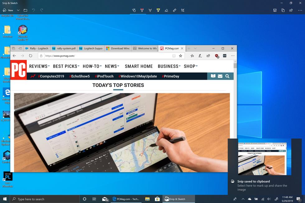 Nueva utilidad de captura de pantalla