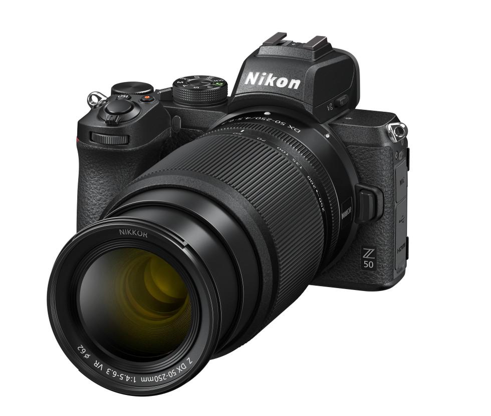 Nikon Z 50 Nikkor Lente