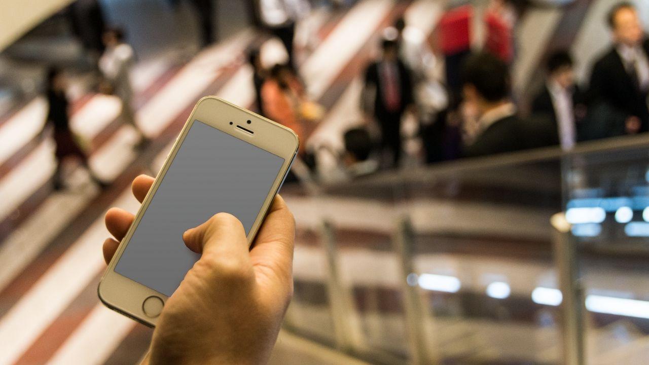Imagen de muestra del iPhone 5 del editor
