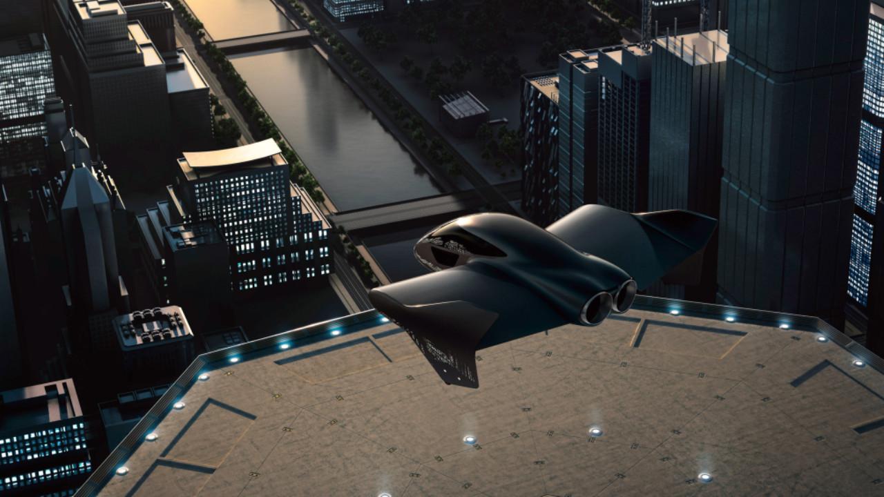 Coche volador Porsche Boeing