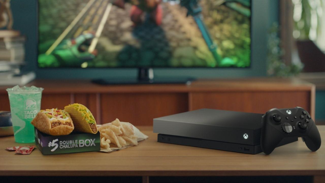 Taco Bell Xbox One X Eclipse Promoción