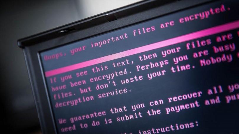 Ransomware (el crédito de la foto debe coincidir con ROB ENGELAAR / AFP / Getty Images)