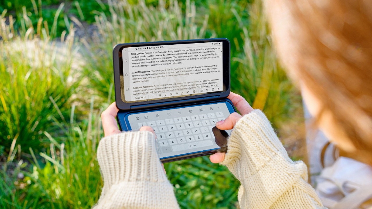 LG G8X ThinQ Smartphone con pantalla dual