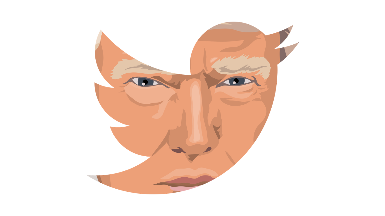 Donald Trump Twitter Logotipo