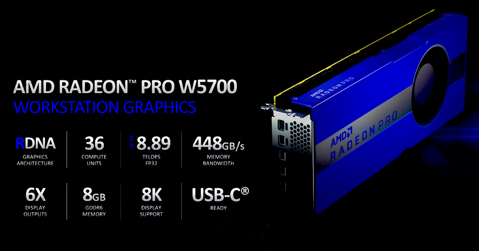 Radeon Pro W5700 2