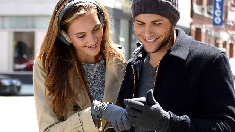 Los mejores guantes táctiles para tus dedos congelados.