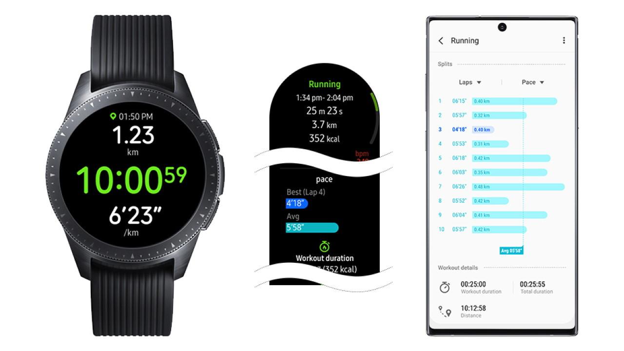 Samsung Galaxy Watch y actualización de software activa de noviembre de 2019
