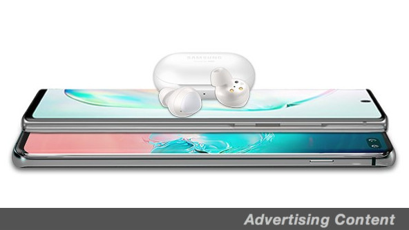 Contenido publicitario de Samsung