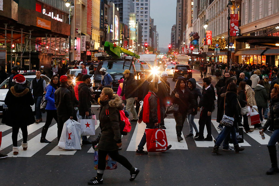 Vendedores del Viernes Negro (Foto de Eduardo Muñoz Álvarez / Getty Images)