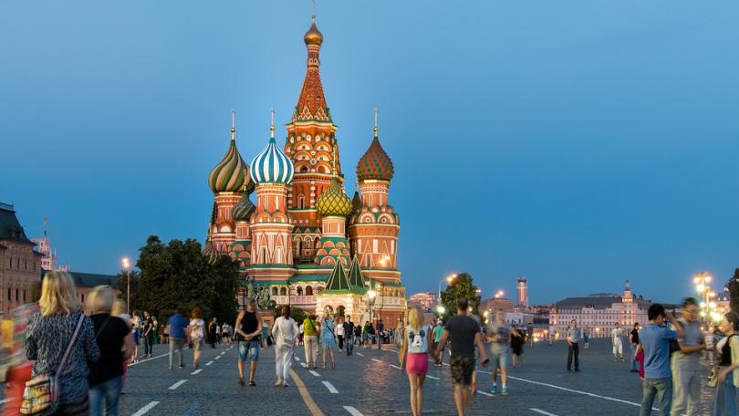 Moscú Rusia Plaza Roja