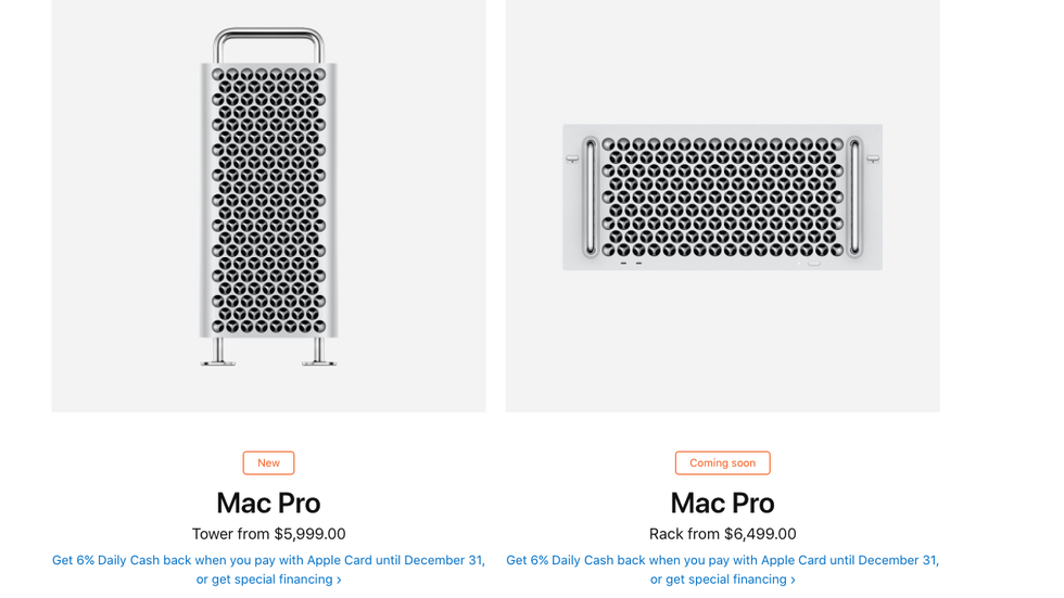 Mac Pro Rack Version