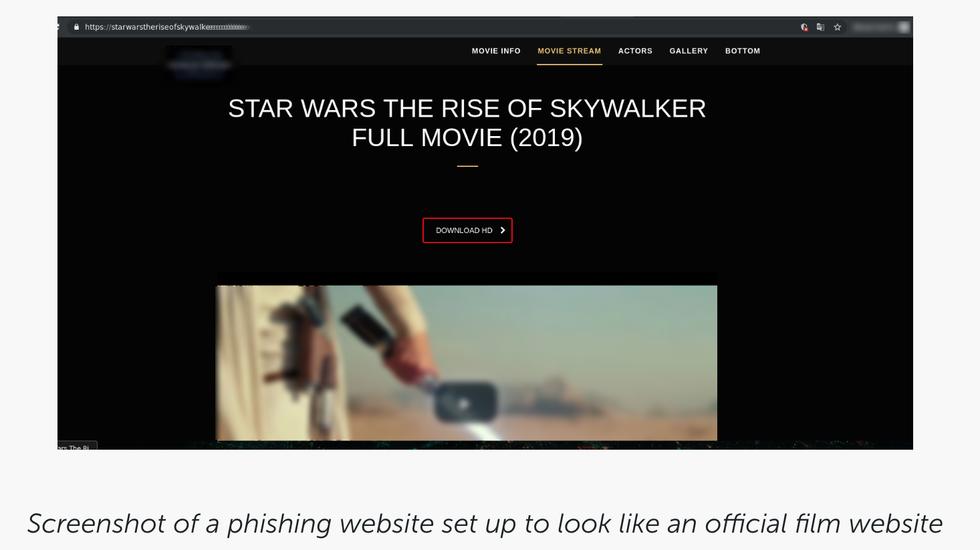 Estafa de Star Wars 2