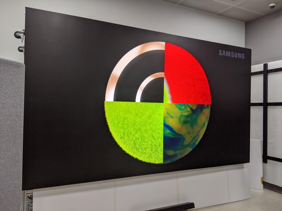 Samsung la pared