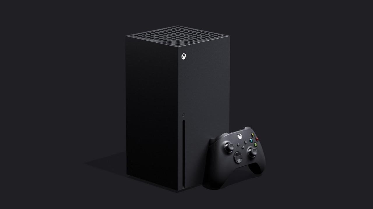 Microsoft Xbox Series X (sin logotipo / nombre)