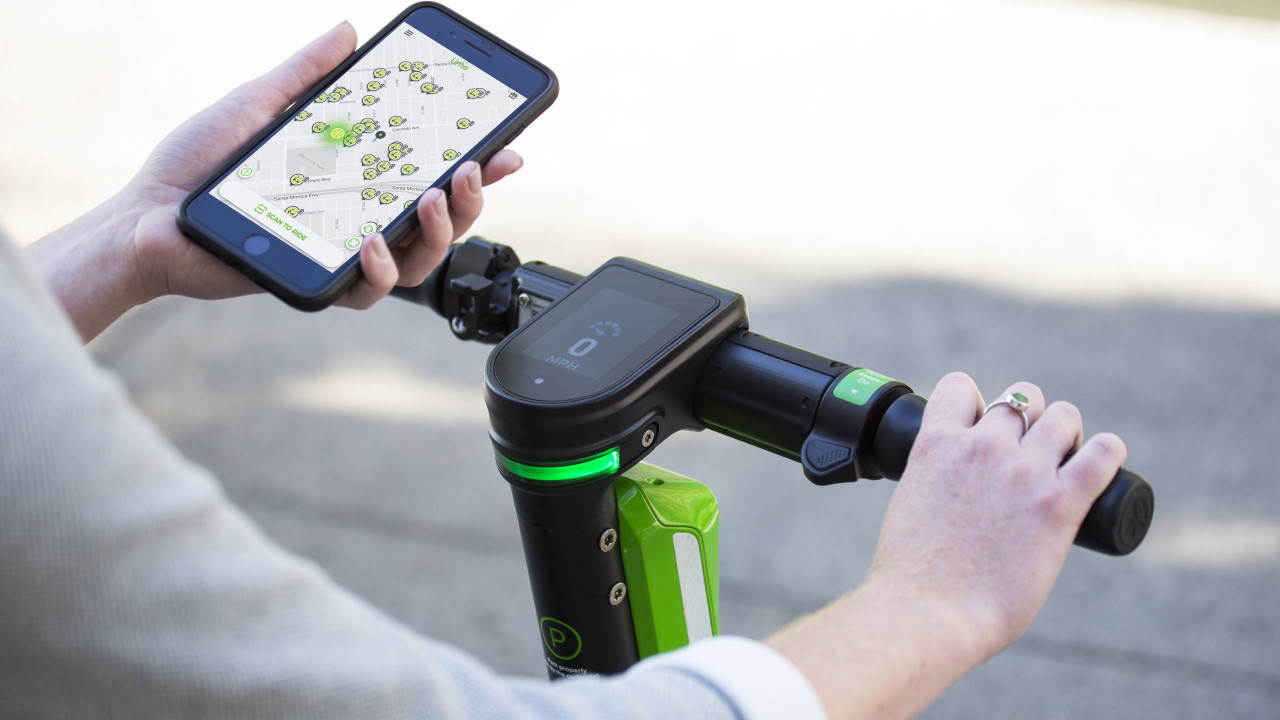 Scooter eléctrico Lime Gen 3