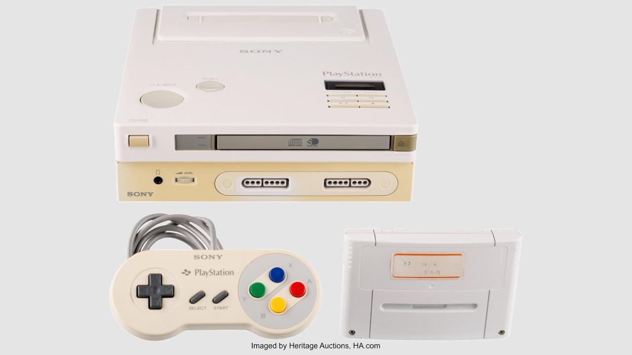 Prototipo de Nintendo Play Station