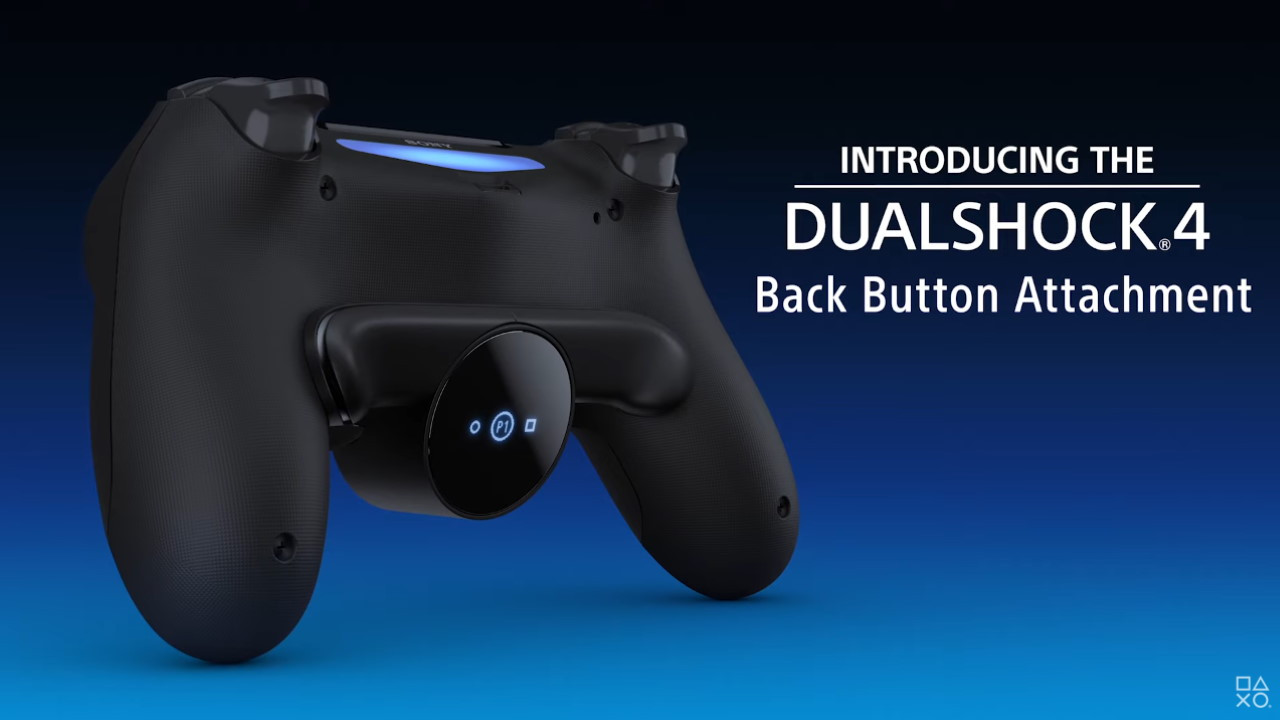 Accesorio de botón trasero DualShock 4